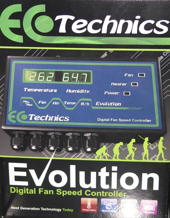 Evolution Digital Fan Speed Controller 12amp-Eco Technics